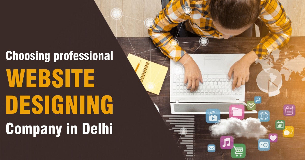 professional Website Designing Company in Delhi